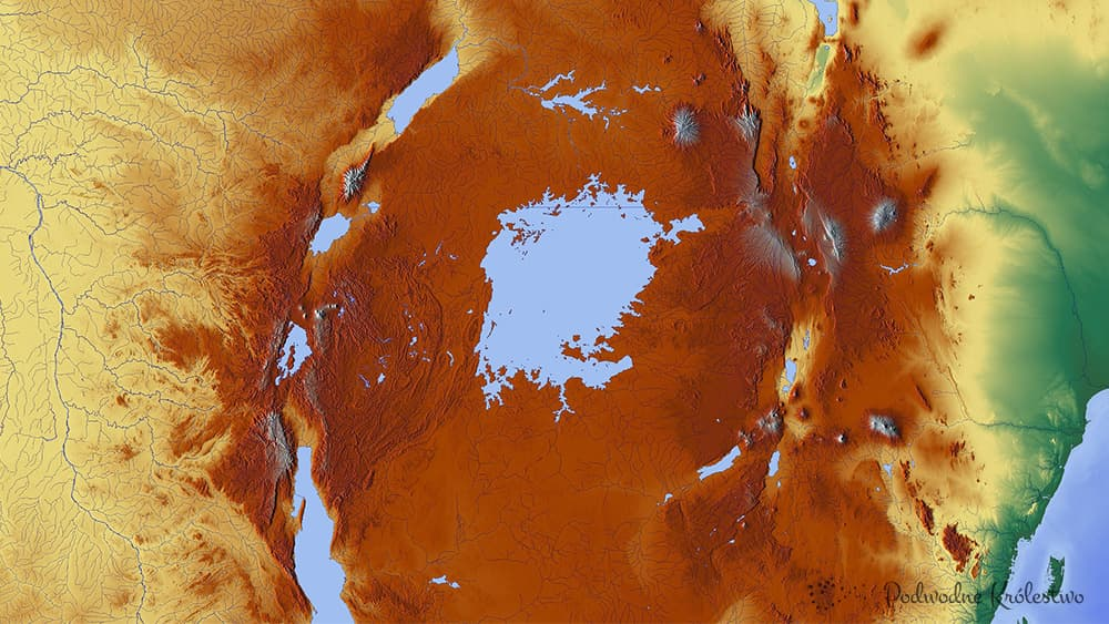Afryka - Jezioro Wiktorii